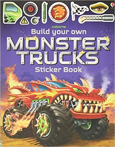 Build Your Own Monster Trucks Sticker Book (Build Your Own Sticker Book)