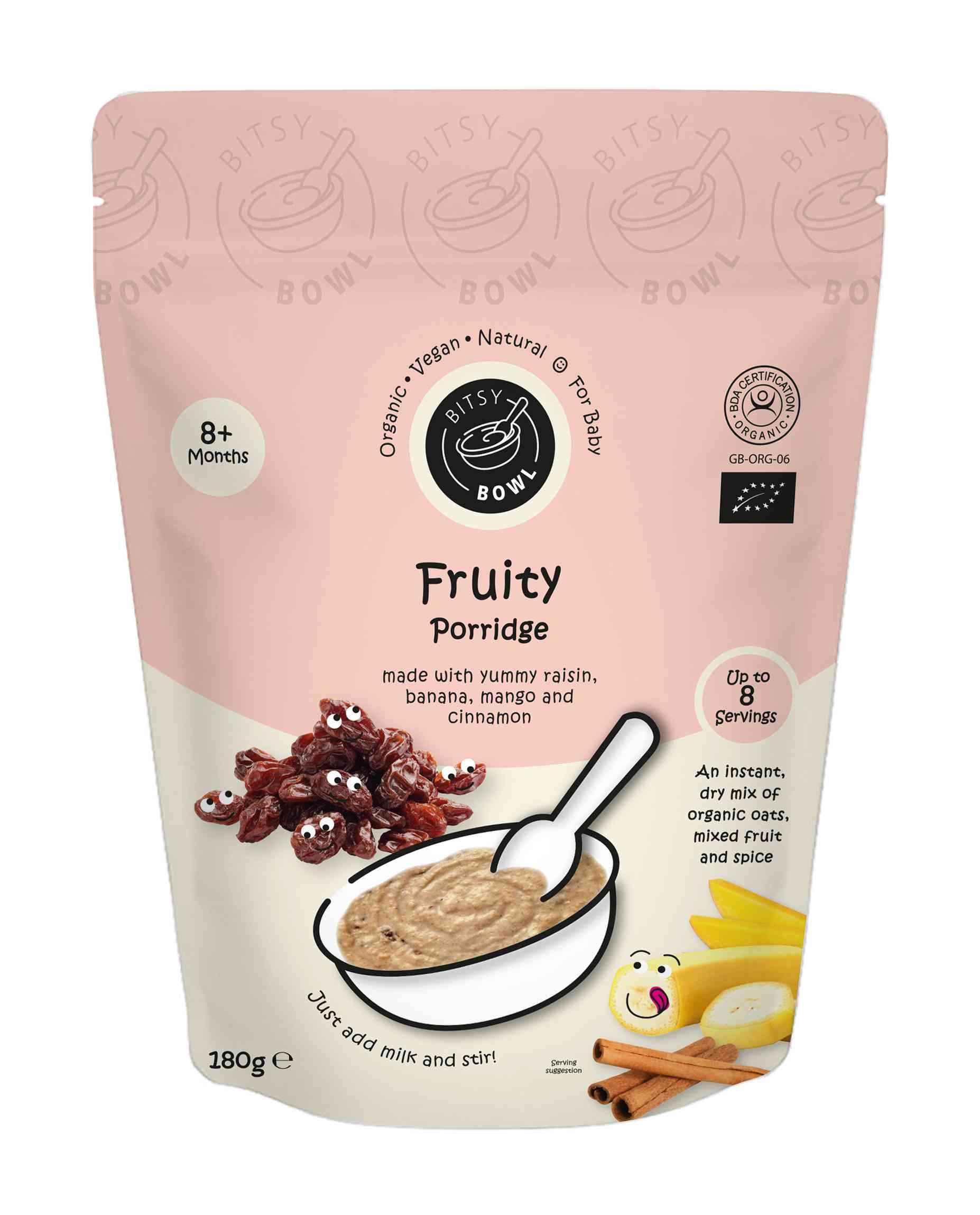 Organic Fruity Porridge